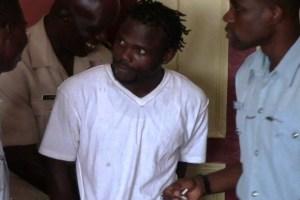The accused, Akeem Goodluck. [iNews' Photo]