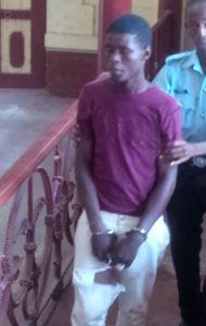 The accused, Teffon Peters. [iNews' Photo]