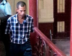 The accused, Michael Jordan. [iNews' Photo]