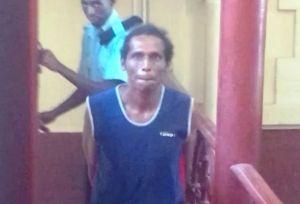 Ustad Lowe was sentenced to three years imprisonment. [iNews' Photo]