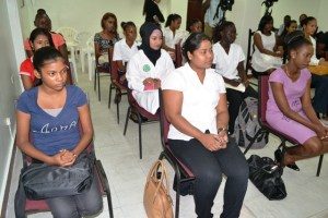 Participants at the launch of the five - day Wellness Warriors training module. [GINA Photo]