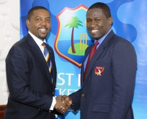 President of the WICB and WIPA President Wavell Hinds.