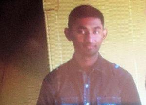 The accused, Brandon Rahaman. [iNews' Photo]