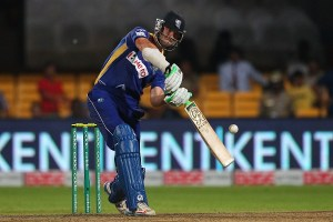 James Franklin of the Barbados Tridents