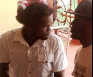 Two of the murder accused. [iNews' Photo]