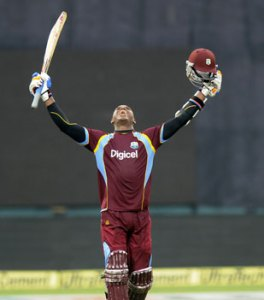 Marlon Samuels' sixth ODI century set the foundation for West Indies' 124-run win over India.