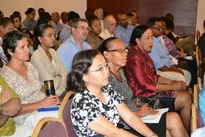 Some of the Stakeholders at the Inception workshop for the study for the potential adoption of the Extractive Industries Transparency Initiative (EITI) in Guyana