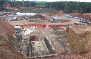 Work ongoing at Aurora Gold Mines.