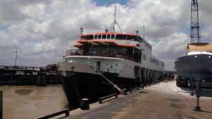 The MV MALALI back in operation