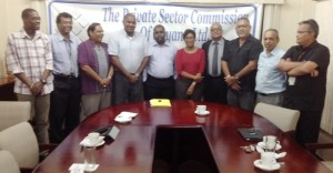 PSC meets with members of the Alliance for Change.