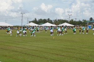 Lodge Secondary dances for the opening. [iNews' Photo]