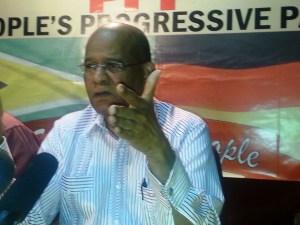 People's Progressive Party (PPP) General Secretary Clement Rohee.