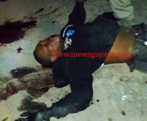 Dead gunman: Warren Blue