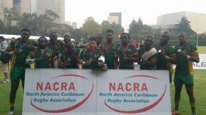 The national team after their seventh win of the NACRA tournament