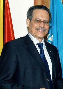 Guyana's Ambassador to Belgium and the European Community, His Excellency Dr. Patrick Ignatius Gomes