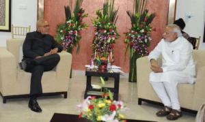 President Donald Ramotar and Prime Minister, Narendra Modi