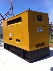 The generator set. [GINA Photo]