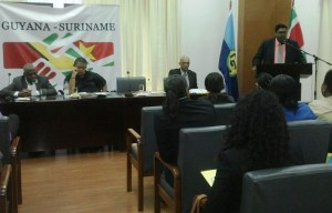 Minister Ali addressing the gathering.