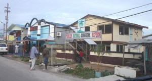 PNCR's Linden Office. [Guyana Chronicle Photo]