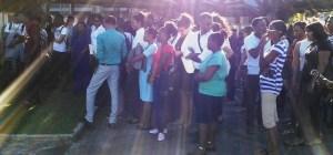 UG students during the meeting. [iNews' Photo]