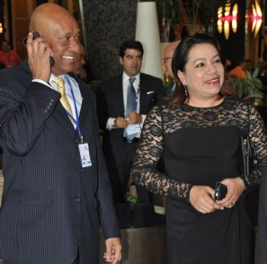 Guyana's Foreign Affairs Minister, Carolyn Rodrigues - Birkett and Ambassador