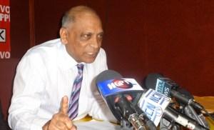 Former Agriculture Minister, Dr Leslie Ramsammy