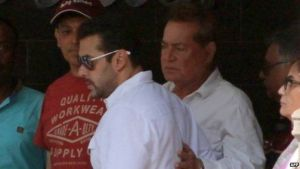 The actor is the son of Bollywood scriptwriter Salim Khan