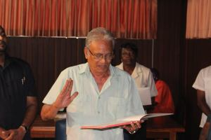Minister of Education, Dr Rupert Roopnarine. [News Source Photo]