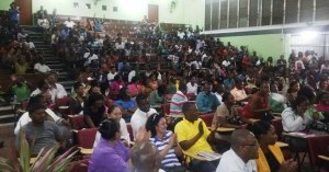 A section of the gathering at UG. [iNews' Photo]