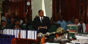Prime Minister, Moses Nagamootoo. [iNews' Photo]
