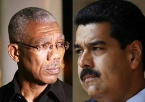 President David Granger and President Nicholas Maduro