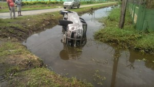 The scene of the accident [iNews' Photo]