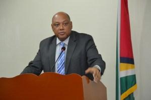 Minister of Governance, Raphael Trotman.