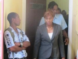 Former Gov't Minister Jennifer Westford [iNews Photo]
