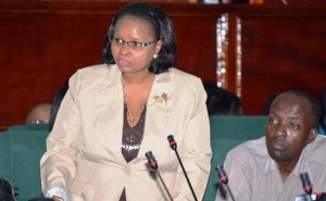 Social Protection Minister Volda Lawrence. [iNews' Photo]