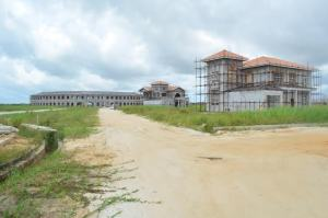 Works stalled at Sunrise villa, owned by Bai Shan Lin
