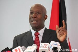 Trinidad and Tobago PM, Keith Rowley