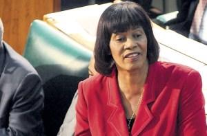 Jamaica PM, Portia Simpson-Miller