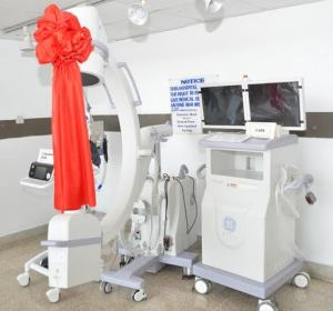 One of the pieces of medical equipment donated by the Chinese Government to the Trauma Center at the GPHC.