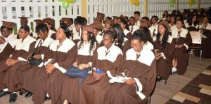 Tutorial High School's graduating class of 2015