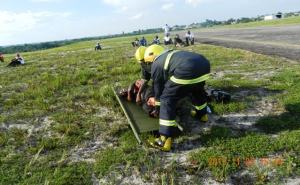 File photo of the last simulation exercise.