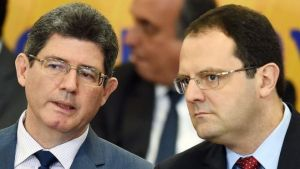 Joaquim Levy (left) is reported to have had frequent disagreements with Nelson Barbosa (right) over the management of the crisis