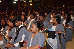 The 81st batch of graduands of the Cyril Potter College of Education