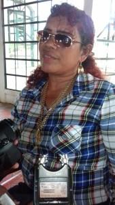 Member of the Guyana Women Miners Association, Stephanie Miguel