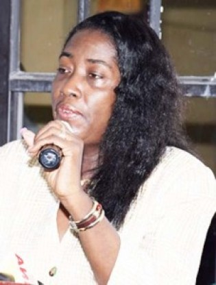 Minister  Valerie Sharpe-Patterson