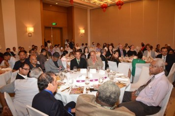 A section of the gathering at the Marriott Hotel, Kingston, Georgetown