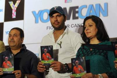 YouWeCan, an initiative of Yuvraj Singh Foundation, aims at spreading awareness © AFP