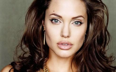 Hollywood film star and UN evoy, Angelina Jolie