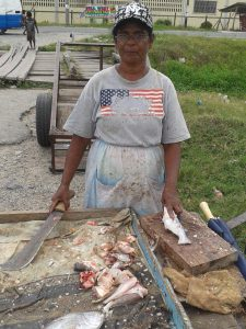 Patentia resident and fish vendor, Zoreena Persaud