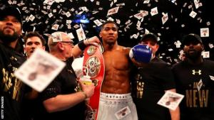 Anthony Joshua's ascent to world champion is the fifth-quickest by any heavyweight
